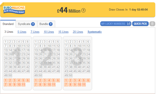 uk miljonaire maker euromillions